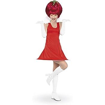 Rubies - Disfraz de fresa con peluca para mujer, talla única ...