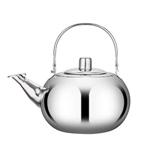 MNYHJDS Tea Kettle Stefetop Whistling Tea Pot, Filtro de Acero Inoxidable Incluido, Adecuado para la Cocina Restaurante for Home (Size : 1L)