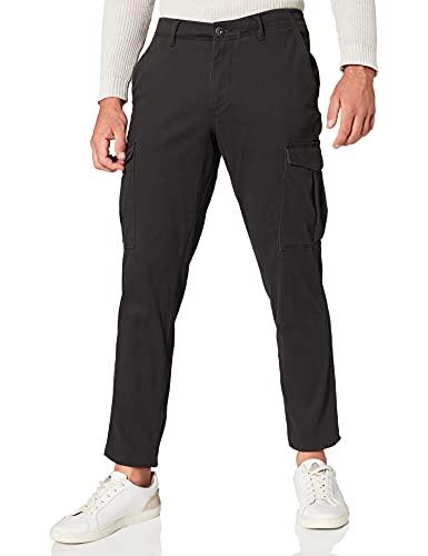 Jack & Jones Jjimarco Jjjoe AKM Black Pantalons, Noir, 33W x 32L Homme
