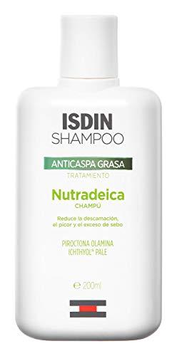 Isdin Nutradeica Champú Anticaspagrasa, Reduce la Descamación,...