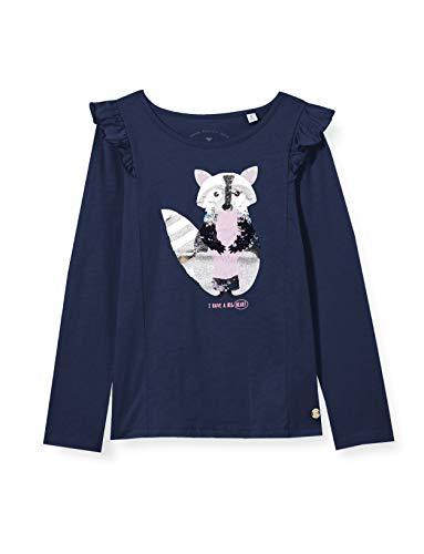 TOM TAILOR Baby-Mädchen Langarmshirt T-Shirt, Dress Blues Blue, 92/98