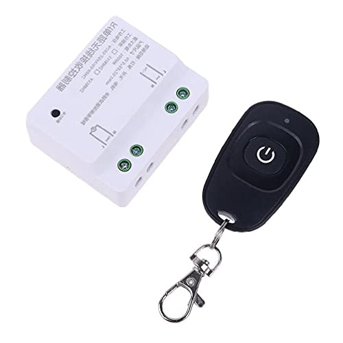 AC 85V-250V 433Mhz Relé 1CH Control remoto inalámbrico interruptor transmisor receptor para la puerta de garaje luz 433Mhz relé 1CH receptor