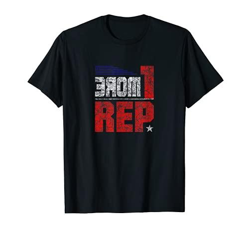 Culturismo motivacional para el entrenamiento de levantamiento de pesas americano Camiseta