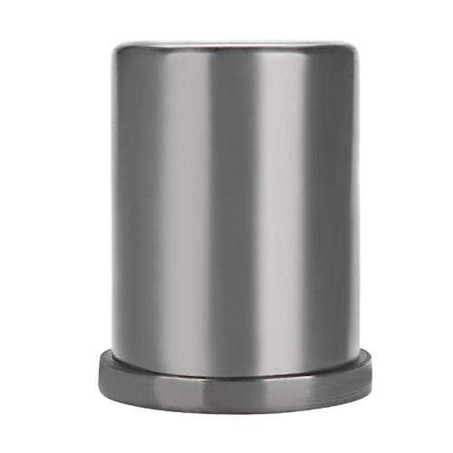 Salmue Grafito Crisol Metal Fundición Oro Plata Cobre Latón Aluminio Chatarra Horno Fundición Lingote Molde(3 Kg)