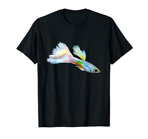 Guppy Aquarienfisch I Aquarianer Hobby Aquaristik T-Shirt