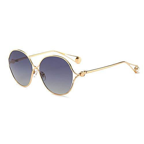 KK Timo UV400 Ms. Polarized Sunglasses Gafas De Sol con Montura Grande Gafas De Sol Elegantes con Tendencia Salvaje