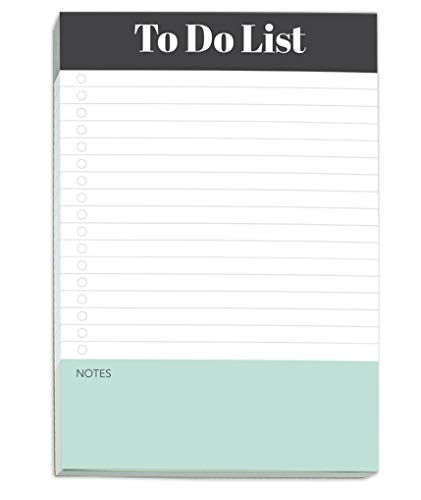 To Do List Notepad by Sweetzer & Orange - Magnetic Notepad Planners - Easy to Read Daily Todo Check Lists, Grocery Checklist, Daily Schedule Note Pad and More! Daily Task Planning Pad and List Maker