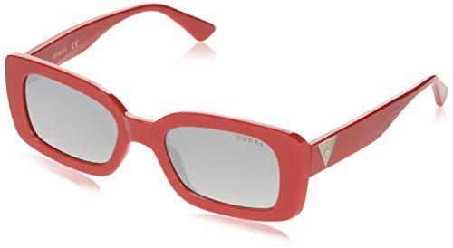 Guess GU7589-5366C Gafas, Rojo, 53/15/135 para Mujer