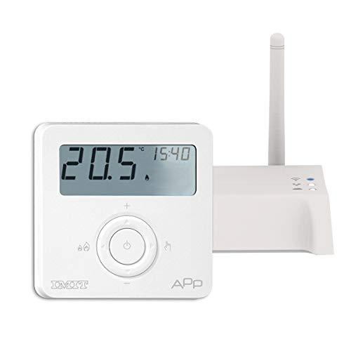 IMIT Techno App - Smart Thermostat und Gateway für die Kontrolle bis zu 100 Vorrichtungen – Techno App – Starter Kit