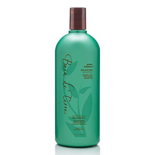 Bain de Terre, Balancing Shampoo with Argan and Monoi Oil ParabenFree Ounce, Green Meadow, 33.8 Fl Oz (I0023178)