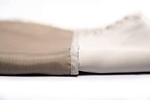 New! EMF Protection Curtain Liner – Silver EMF Blocking Conductive...