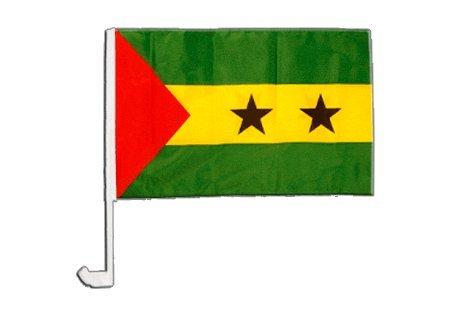 Drapeau de voiture São Tomé e Príncipe - 30 x 40 cm