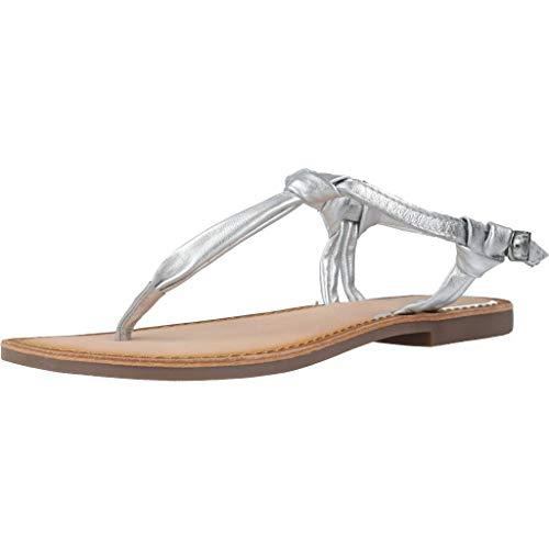 GIOSEPPO 48216 Sandalias Doradas Doradas Correa de Piel con Correa de Mujer