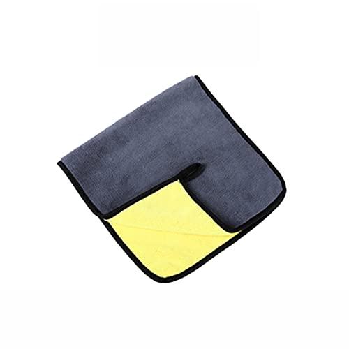 MCYAW 3/5/10 PCS Extra Soft Car Wash Toalla de Microfibra Limpieza de Coche Secado Paño Cuidado Car Paño Detalle Detalle Washtowel Nunca Scrat (Color : 30x60x5pcs, Material : Superfine Fiber)