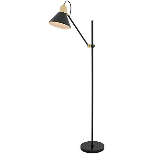 JYXPOWER Lampara de pie,Salon Lámpara de Estar Sala de Estudio Nórdico Dormitorio Lámpara Simple Post-Moderna Interruptor de botón Creativo elevable Vertical lámpara de Mesa Lámparas (Color :