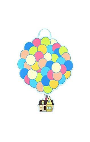 Loungefly Pixar's Up Balloon House Mini Backpack Standard