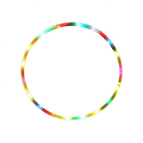 muskmelon LED 10 Luces Diameter 60CM 7 Color Fitness Cambio Abdominal Herramientas De Ejercicio Portátil Brillo Brillante para Fitness Baile Pérdida de Peso