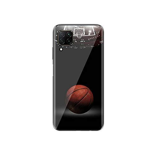 Deportes de baloncesto para Huawei P40 P30 P20 P10 P9 P8 Lite 5G 4G E Pro Plus Lite Mini 2019 2017 Funda estilo 10 para Huawei P30 Lite