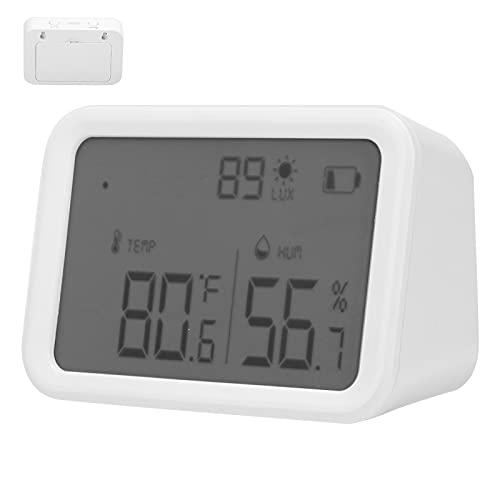 Termómetro de Temperatura, higrómetro Digital de Interruptor Inteligente para Bodega para Invernadero para el hogar