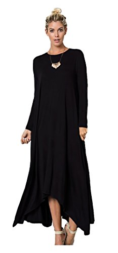 Long Loose Casual Oversize Maxi Dress