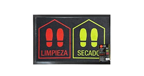 FELPUDO DESINFECTANTE LIMPIA/SECA 45 X 70 CM