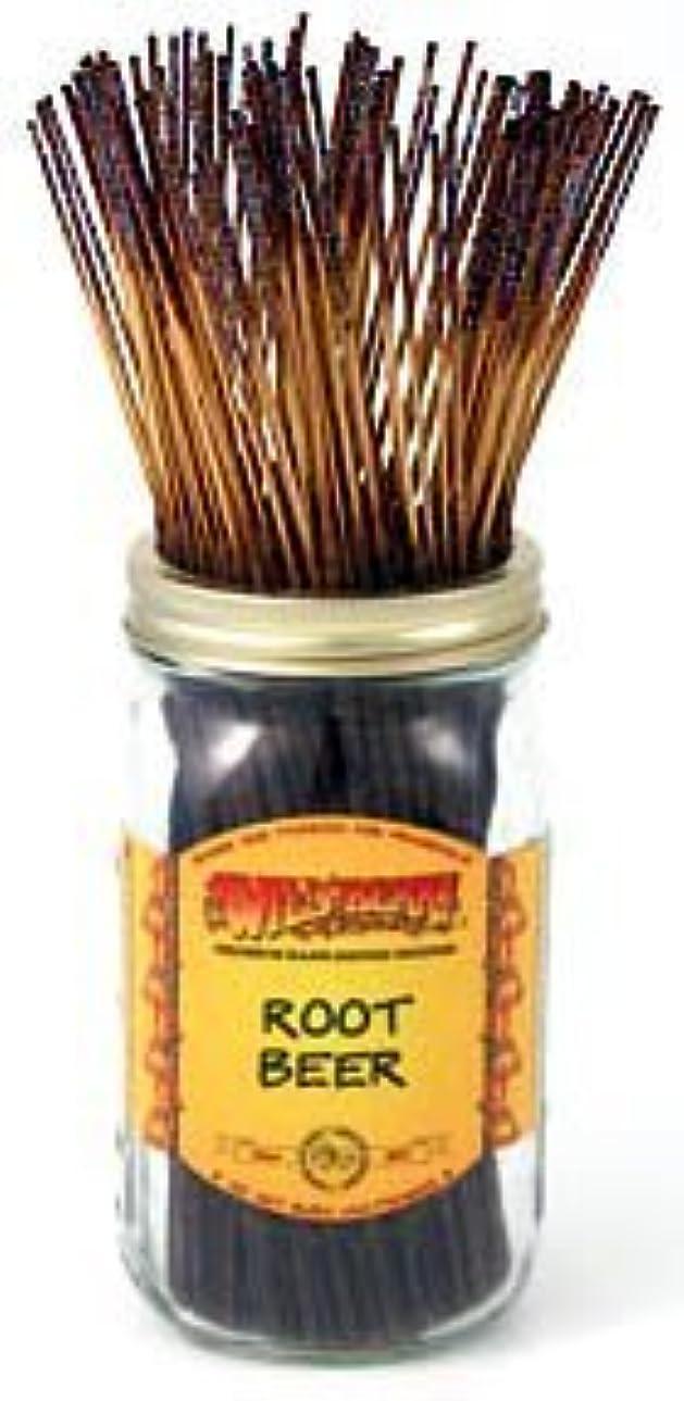 を通して分泌するバクテリア1 X Root Beer - 100 Wildberry Incense Sticks [並行輸入品]
