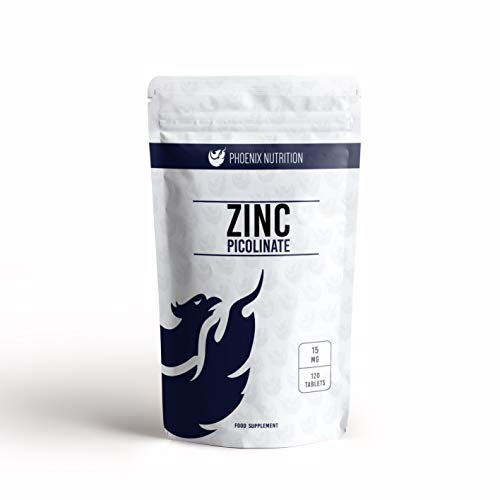 Zinc Picolinate 15mg x 360 Tablets Bioavailable Chelated