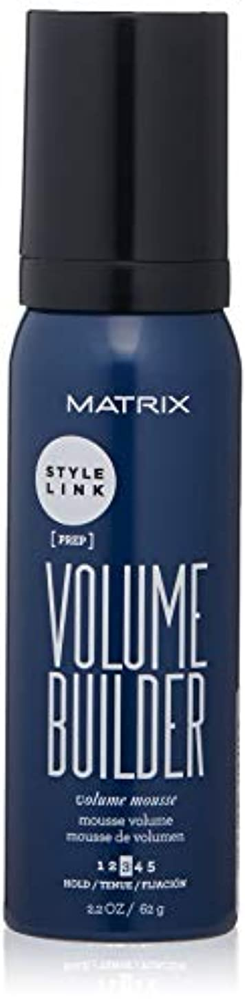 Matrix Style Link Volume Builder Volume Mousse Medium Hold, 2.2 Oz. (Packaging May Vary)