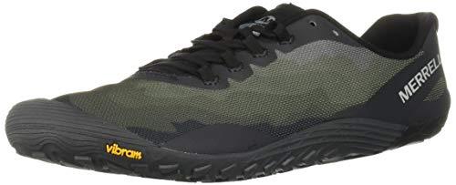 Merrell Vapor Glove 4, Zapatillas Deportivas para Interior para Hombre, Negro (Black), 43 EU