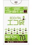 ゴミ袋 70L 800x900x0.040厚 半透明 10枚x40冊 箱 LLDPE素材 半透明 厚さ0.040㎜