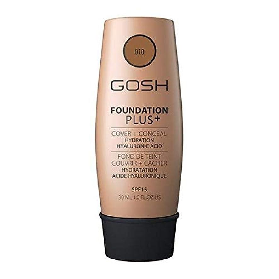 裏切るロケーションレガシー[GOSH ] おやっ基盤プラス+日焼け010 - Gosh Foundation Plus+ Tan 010 [並行輸入品]