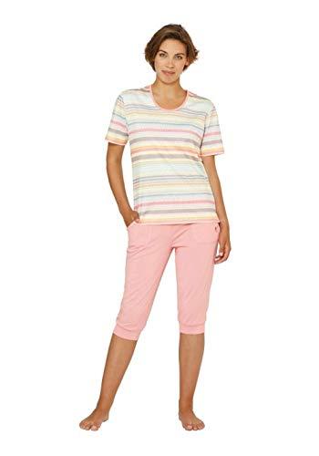 hajo Polo & Sportswear Damen Bedruckter Capri-Schlafanzug
