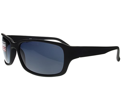 G&G Polarized BBST Big Head XXL Extra Wide 160mm Sunglasses Black Smoke