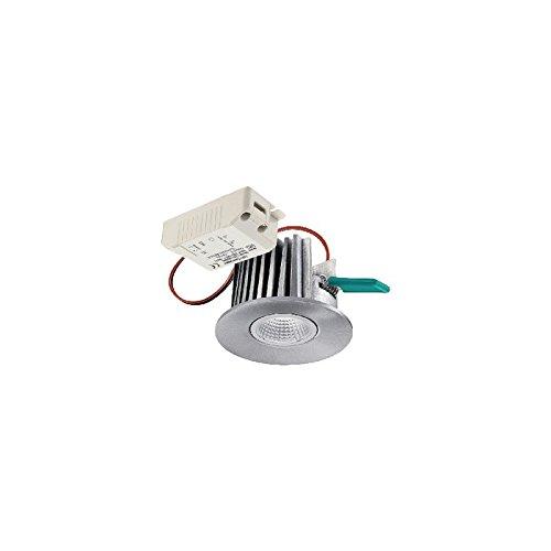 Sylvania SYL0053387 Spot Led intégré IP 44 alu, Aluminium, gris