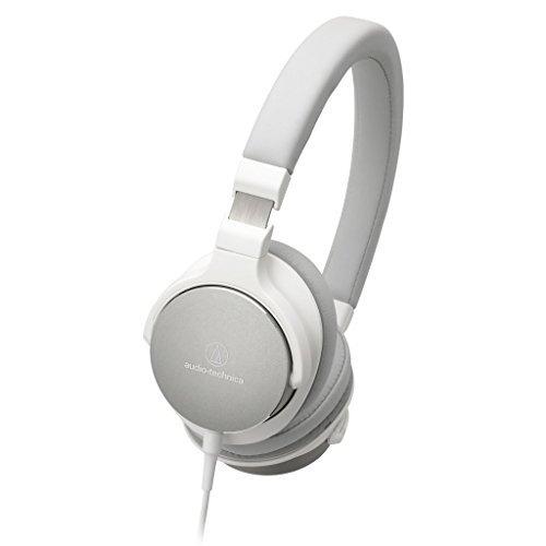 Audio-Technica ATH-SR5 Diadema Binaural Alámbrico Blanco - Auriculares (Alámbrico, Diadema, Binaural, Circumaural, 5-40000 Hz, Blanco)