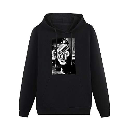 Dope Fear and Loathing In Las Vegas LSD Weed Kush Printed Pullover for Men Black L