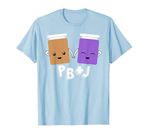 PB+J Cute Peanut Butter & Jelly Matching Costume Set Shirts