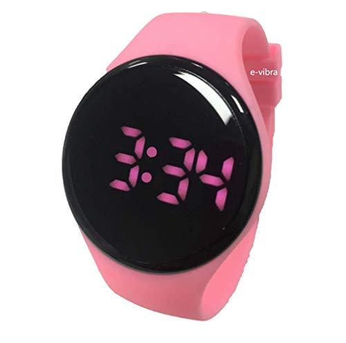 e-vibra Töpfchentraining Erinnerungsuhr - Kinder- und Erwachsenenmedikament Alarm Töpfchenuhr mit Melodie und Vibration für das Toilettentraining (Pink)