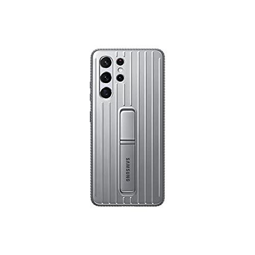 Samsung Galaxy S21 Ultra Official Rugged Protective Case (Silver, S21 Ultra)
