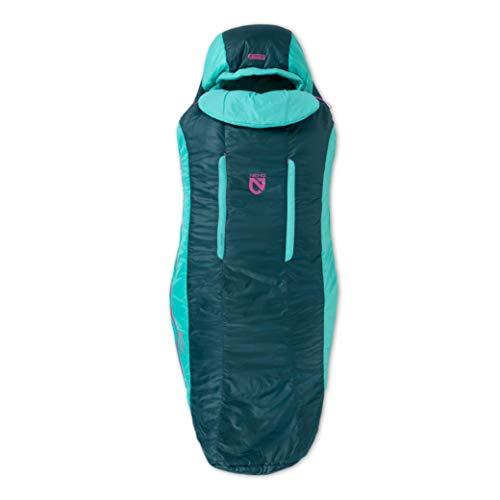 Nemo Forte Ultraleichter Synthetik-Schlafsack (20 & 35 Grad) – Herren & Damen, Twilight/Aurora, 35-Degree, Regular (Women's)