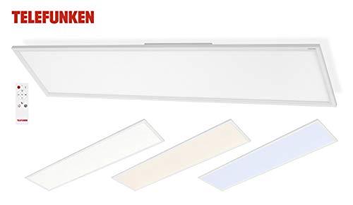 LED Deckenpanel Telefunken 301106TF Deckenleuchte Mit Fernbedienung