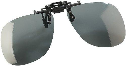 Speeron Sonnenbrillen Clips: Sonnenbrillen-Clip Allround für Brillenträger, polarisiert (Sonnenbrillenaufsatz für Brillen)