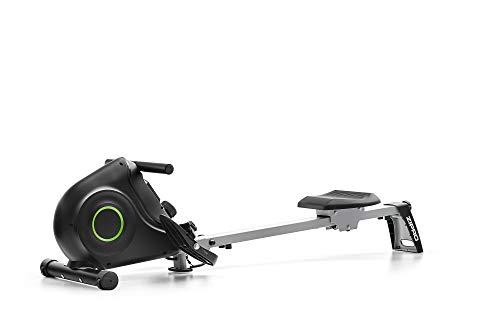 Zipro Nix Rudergerät klappbar für zuhause,leises & wartungsfreies Magnetbremssystem, kugelgelagerter Rudersitz, Trainingscomputer, schwarz, 6299217