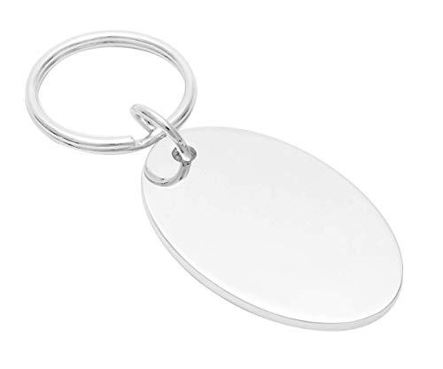Brillibrum Hundmärke hundhalsband namn nyckelnyckelnyckelhållare MASSIV metall reklamblad gåvor presentidé (hänge med gravyr upp till 25 tecken)