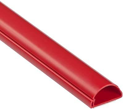 MN D-Line - Cable de PVC autoadhesivo para TV (1,1/4' x 5/8', 2,7 m de longitud)
