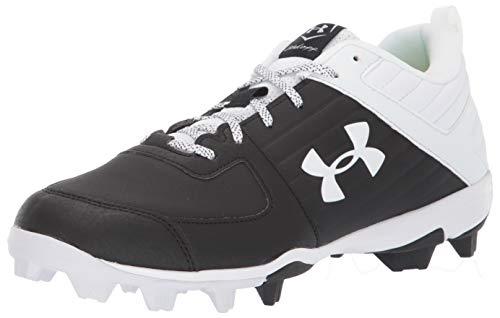 Under Armour Men's Leadoff Low RM Running Shoe, Black (001)/White, 11.5
