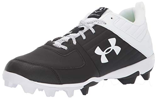 Under Armour Men's Leadoff Low RM Running Shoe, Black (001)/White, 11