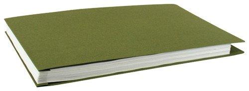 11x17 Presskartonordner, recycelte Fasern, 10 Stück, Moos (526339)