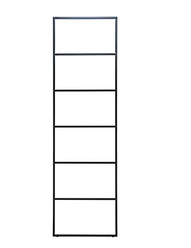 Jan Kurtz Hip Metall Handtuchhalter SCHWARZ matt HIP Handtuchleiter Stummer Diener Garderobe 7 Sprossen 50x170cm