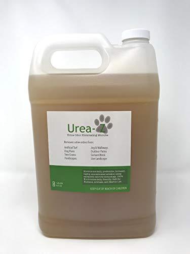 尿素- z尿气味消除器去除人造草坪和天井的狗尿气味- 1加仑的高浓度尿素- z(1加仑的高浓度尿素- z = 16加仑的尿素- z产品,$9/加仑)